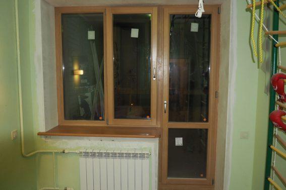 деревянные окна лиственница