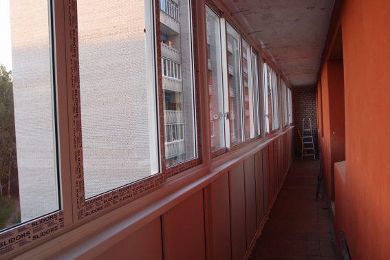 Остекление балкона в Протвино