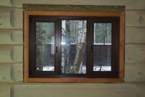 trehstvorchatoe laminirovannoe okno
